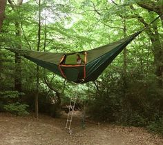 Tentsile is a portable shelter that combines the versatility of a hammock with the comfort and security of a tent.