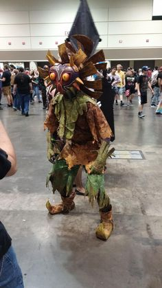 Another shot of Skull Kid at Megacon