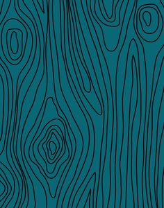 Teal wood pattern