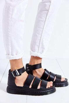 Dr. Martens Clarissa Chunky Strap Sandal - Urban Outfitters