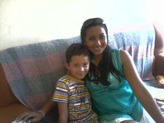 #JennyReis <3 e meu sobrinho Marcos