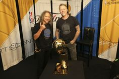 NBA Finals: Game 5 - Metallica