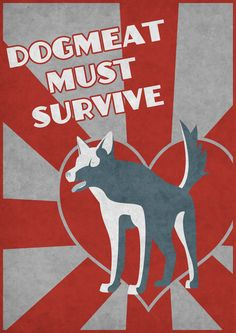Dogmeat must survive (fallout) by on DeviantArt Fallout Posters, Fallout Game, Fallout New Vegas, Dogmeat Fallout, Vault Dweller, World On Fire, Stuff And Thangs, Bioshock, Geek Out