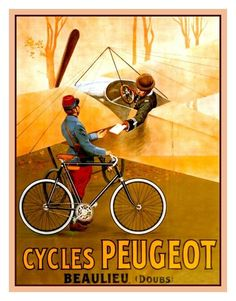 Peugeot bicycle ad