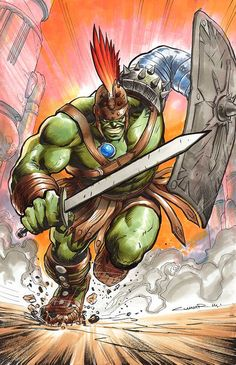 The Comic Ninja - Planet Hulk by Yildiray Cinar Avengers Characters, Comic Book Characters, Comic Character, Comic Books Art, Comic Art, Book Art, Hulk Comic, Hulk Marvel, Marvel Art
