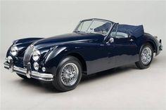 1957 Jaguar XK-140 Convertible...