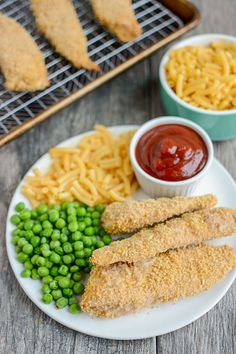 These Freezer Chicken Tenders are perfect for meal prep. Make several batches ahead of time and stick them in the freezer. On a busy night, just pull them out, bake from frozen and have dinner on the table in 30 minutes! Freezer Cooking, Freezer Meals, No Cook Meals, Kids Meals, Breaded Chicken, Chicken Tenders, Freezer Chicken, Chicken Recipes, Chicken Meals