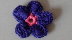 Blume häkeln - Butterblume - Anleitung