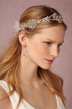 Coronation Halo in Shoes & Accessories Headpieces at BHLDN