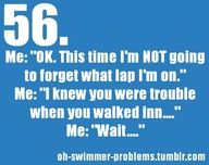 Distance swimmers!