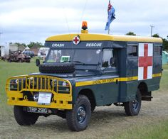 RAF - AMBULANCE Emergency Vehicles, Fire Engine, Land Rover Defender, Military Aircraft, Fire Trucks, Military Vehicles, Tractors, Presentation, Cars