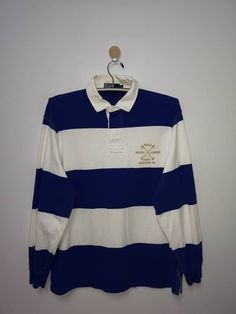fcf29fa5f9f Polo Ralph Lauren Vintage Polo By Ralph Lauren T Shirt Big Striped RLPC Size  m -. Grailed