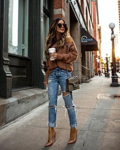 trendy autumn street style outfits for this year - fall outfits 21 Look Fashion, Urban Fashion, Fashion Outfits, Fashion Trends, Travel Outfits, Fast Fashion, Europe Fashion, Fashion Styles, Fashion Ideas