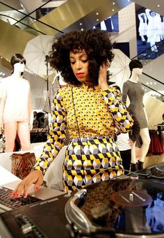HM opening in Mexico.  Read more about Solange: http://www.fashionstudiomagazine.com/2012/12/fashion-news-south-africa.html