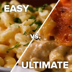 Easy vs. Ultimate Mac and Cheese // #macandcheese #cheese #recipes #food