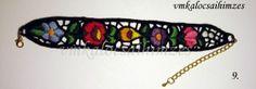 Kézzel hímzett riselinezett fekete kalocsai karkötő Beaded Bracelets, Jewelry, Jewlery, Jewerly, Pearl Bracelets, Schmuck, Jewels, Jewelery, Fine Jewelry