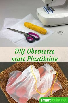 Was haben Umweltschutz und das Upcycling von Stoffresten gemeinsam? Finde die An… What do environmental protection and the upcycling of fabric remnants have in common? Find the answer in this ingenious manual for self-sewn fruit and vegetable bags! Upcycled Crafts, Diy Crafts To Sell, Fun Crafts, Nature Crafts, Fabric Remnants, Fabric Scraps, Diy Dusters, Sewing Projects, Diy Projects