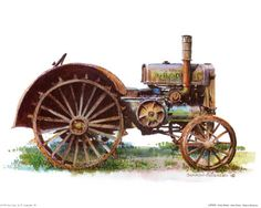 more vintage tractor print ideas