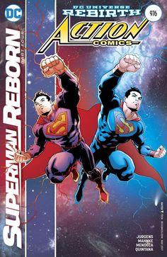 Capa Action Comics 976 com dois Supermen