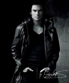 Ian Somerhalder. Holy crap!
