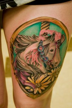 1000 images about tattoos on pinterest horse tattoos horse head and carousel horse tattoos. Black Bedroom Furniture Sets. Home Design Ideas