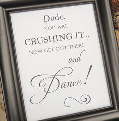 Wedding Sign, FUNNY Wedding BATHROOM SIGN, Wedding Signs, Reception Decor… More