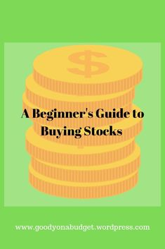 A straight forward guide regarding buying stocks Selling Stock, Physical Science, Good Company, Stock Market, Jamaica, Budgeting, How To Make Money, Investing
