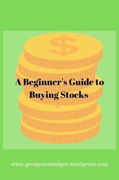 A straight forward guide regarding buying stocks