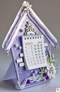 Ручная работа: Новогодний календарь. МК