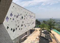 Tianjiashan paviljoen en hotelservice centrum Liyang, China | Achterbosch Architecten Mata Hari, Hotel Services, Under Construction, Photo Wall, China, Building, Travel, Photograph, Viajes