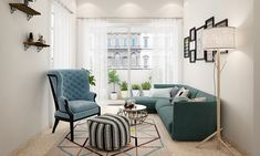 It is impossible to negate the tranquillity and simple beauty of a resolved minimalist interior. But, ask any interior designer Living Room Sets, Living Room Modern, Living Room Interior, Living Room Designs, Living Room Decor, Minimalist Architecture, Minimalist Interior, Minimalist Living, Colorful Lamp Shades
