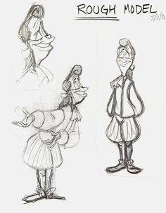Lumiere human version from beauty and the beast by animator Nik Ranieri