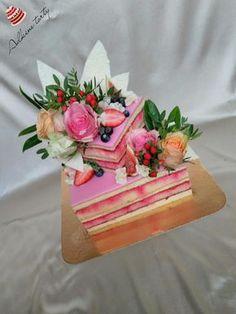 Svadobná punčová tortička, Inšpirácie na originálne torty Svadobné torty Wedding Cakes, Food And Drink, Cookies, Poppy, Naked, Weddings, Birthday Cakes, Wedding Gown Cakes, Crack Crackers