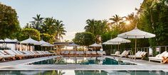 With 250 rooms, the Nautilus Hotel has stunning views of South Beach and the Atlantic
