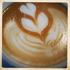 And that's how we know it's summer time....#coffee #latte art