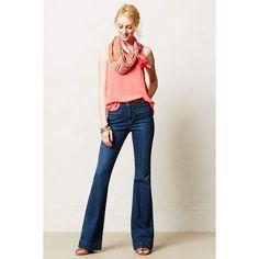 Pilcro Superscript High-Rise Flare Jeans