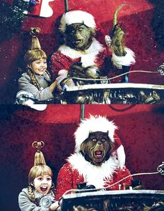 How The Grinch Stole Christmas Cindy is adorable I love her and her little giggle