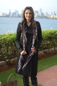 42cf5e47ca30 Madhu Shah photographed by Wearabout in Mumbai for Burberry Art of the  Trench Burberry Trench Coat