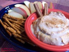 Cinnamon Roll Dip - Shhhh! It's healthy!   Holly Larson, Registered Dietitian