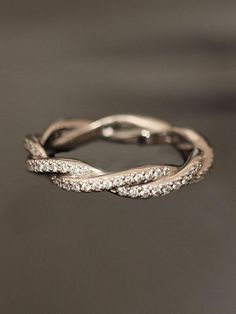 And Gus...I want a wending band like this!!! Find me a very simple engagement ring to go with it and you are done! PERFECTION this is!