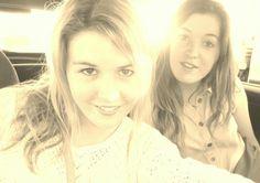 sister bonding :)