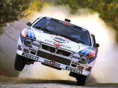The ambitious Italians responded with this: the 037. Although its start was rocky, the 037 did the impossible and humiliated Audi by ending their winning streak in the 1983 World Rally Championship. The 037 had a losing formula: it was rear-drive. In the midst of 4WD powerhouses, the fact that this modestly-powered, 2WD Lancia could win the Constructors Championship was nothing short of astonishing. The 037 was the last 2WD car to rally in the WRC.