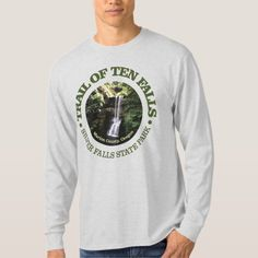 Trail of Ten Falls T-Shirt   hiking party, best hiking backpack, diy hiking gear #Anniversary #giftideas #hike, 4th of july party