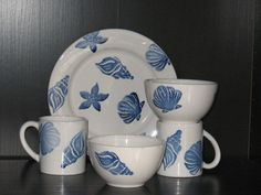 Casafina Conchas Shell Dinnerware Set...love theses dishes
