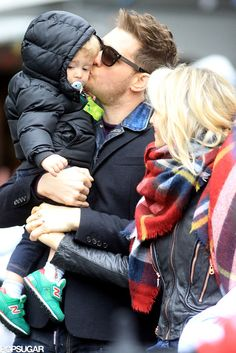 Michael Buble and Family Celebrate Christmas in Vancouver | POPSUGAR Celebrity