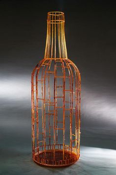 Rob  Snyder - WINE, 2015 Formatting lost branch kiln cast glass, assembled    76 x 25 x 25 in