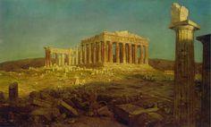 Fredric Edwin Church - The Parthenon (1871)