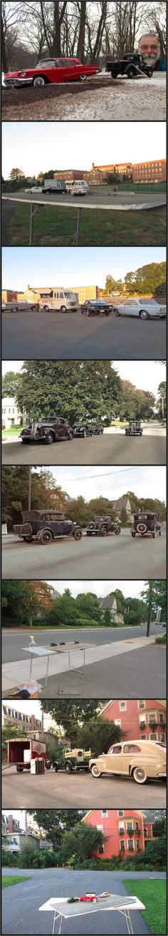 Amazing Miniature Scenes Shot with Model Cars, Forced Perspective and a $250 camera -- Michael Paul Smith