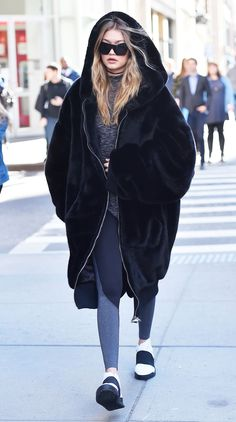 This Is How Gigi Hadid Elevates a Casual Look via @WhoWhatWear