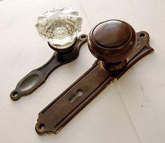 Doorknob S339古びた洋館スタイルアンティーク金具ドアノブ古い部品 インテリア 雑貨 家具 Antique ¥10000yen 〆07月01日